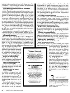 SZ Ozeanpianistin Interview Heft 10